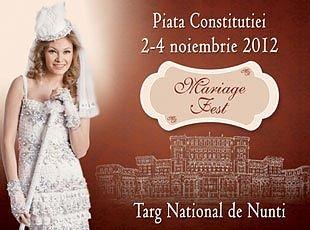 Targ nunta Mariage Fest noiembrie 2012