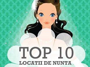 Top 10 restaurante de nunta Bucuresti