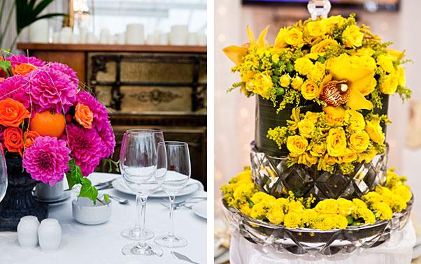 Aranjamente florale targ nunta Mariage Fest Bucuresti