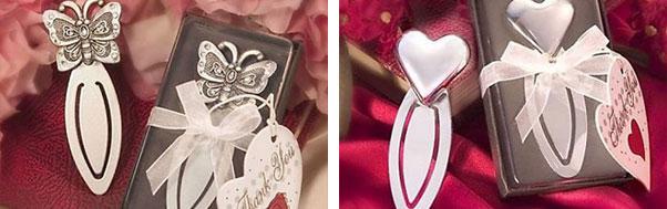Marturie de nunta semn de carte fluture sau inima