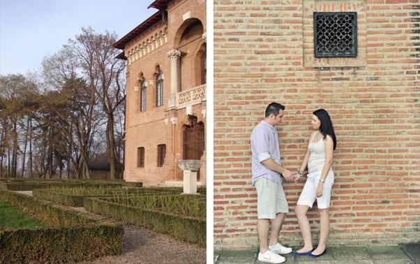 Sedinta foto la Palatul Mogosoaia Theo Manusaride Bucuresti