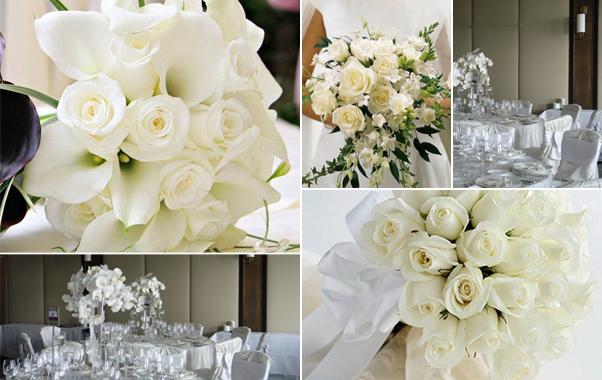 Stilul alb de nunta Angels Day Bucuresti