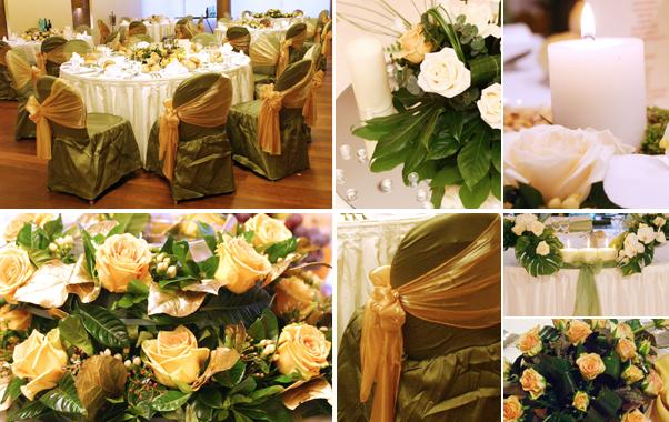 Decoratiuni pentru nunta tematica toamna