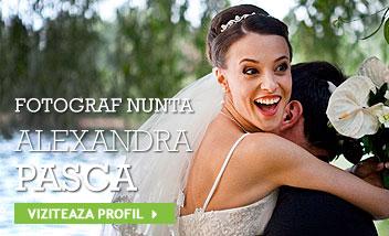 Fotograf nunta! Alexandra Pasca