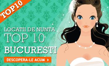TOP10! Restaurante sali nunta Bucuresti